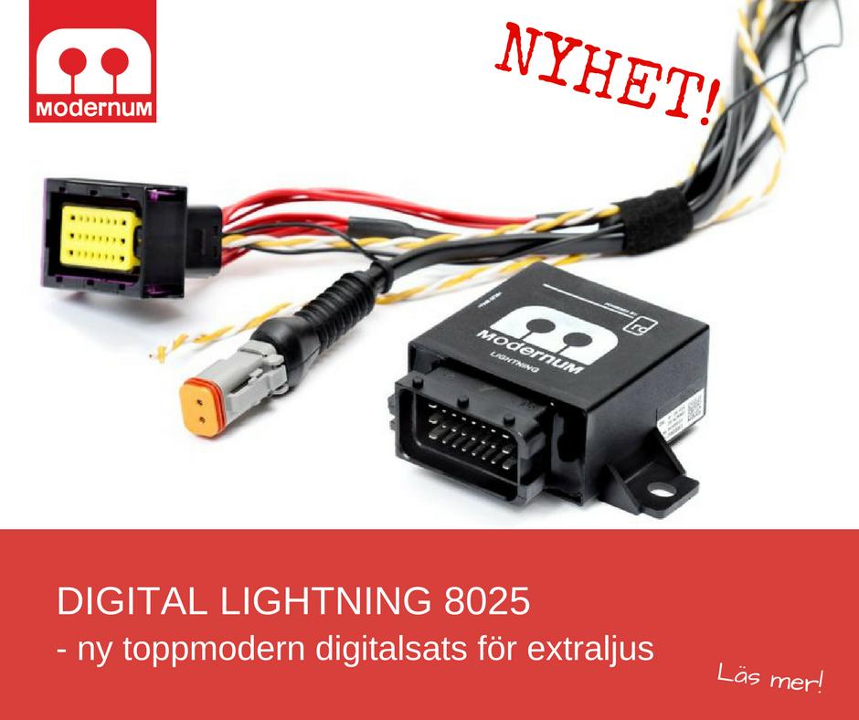Nyhet- Digital Lightning 8025
